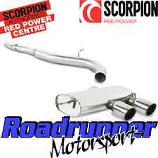 Scorpion Golf R32 MK5 Exhaust Cat Back System Non Resonated LOUDER SVWS039