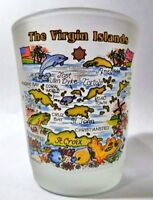 VIRGIN ISLANDS SHOT GLASS SHOTGLASS