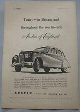 1950 Austin Original advert No.2
