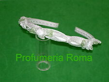 CERCHIETTO PER CAPELLI BAMBINA BIANCO/VERDE COD. 17221 Made in Italy Frontino