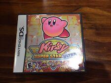 Kirby Super Star Ultra (Nintendo DS) Complete Superstar 3DS DSi