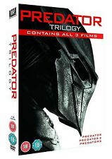 PREDATOR Trilogy DVD Complete Collection Box Set 1+2+3 Predators New Sealed
