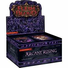 Flesh and Blood TCG   Arcane Rising Booster Box   Unlimited   24 Booster Packs