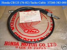 Honda MB50 CG125 CB125 CB100 Tacho Cable NOS Tachometer Wire 37260-383-000
