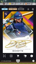 2020 Topps Bunt DIGITAL Bo Bichette Fire Gold Signature - Iconic
