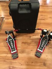 DW 5000 Series Double Bass Drum Pedal w/ Case USED,