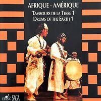 Compilation ‎CD Drums Of The Earth 1 - Africa - America/Tambours De La Terre