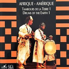Compilation CD Drums Of The Earth 1 - Africa - America/Tambours De La Terre