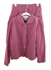 Strasburg Pink Corduroy 2 Piece Skirt Top Set Size 8Y