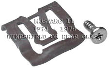 FITS MUSTANG II WINDSHIELD OR REAR GLASS REVEAL MLDG CLIPS 20 FITS FORD 1974-78