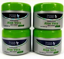 Bundle of 4 Personal Care Aloe Vera Enriched Skin Cream 8 oz. 226g Each