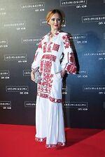 STUNNING EUC Embroidered Maxi Dress Vyshyvanka Yuliya Magdych Kirna Zabete M/L