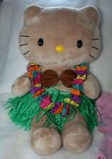 BUILD A BEAR HELLO KITTY  SUNKISSED HAWAIIN DOLL Grass Skirt Extra Outfit