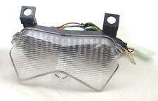 Clignotants LED Feu arrière intégrés pr Kawasaki ZX 6R/6RR/636 Z1000 Z750S Clear