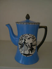 W & R Carlton Ware Crinoline Lady Coffee Pot
