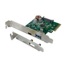 ️ Connectland Pcie-cnl-usb-c-3.1 ha Scheda Controller PCI Express USB V3.1