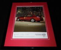 2007 Nissan Sentra Framed 11x14 ORIGINAL Vintage Advertisement