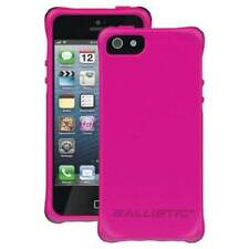Ultra-sleek Ballistic LifeStyle Smooth Case Cover for iPhone 5/ 5S/ SE- Hot Pink