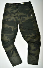 G-Star RAW, Vodan Tapered W31 L32 Camouflage Jeans Cargohose Samples
