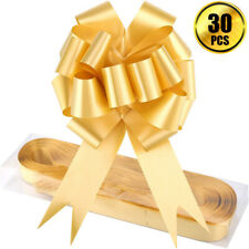 30 Pcs Large Ribbon Pull Bows for Party Gift Wraps Christmas Trees Wedding Decor