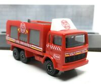 Majorette Renault J Fire Truck Red Fire Brigade 909 1/100 261/265A no Package