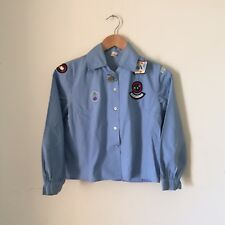 Vintage 50s/60s GIRL GUIDES Brownies SHIRT Uniform 3rd GREYTHORN Coy + BADGES