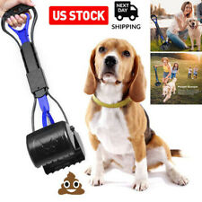 Dog Pooper Scooper Large for Pets and Cats Heavy Duty Waste Pickup Remover Usa
