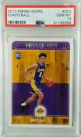 Lonzo Ball  2017-18 Hoops Lakers RC #252 rookie super hot Lonzo Ball rc hot buy