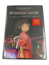 Spirited Away (Dvd, 2003, 2-Disc Set) Walt Disney Studios Ghibli Factory Sealed