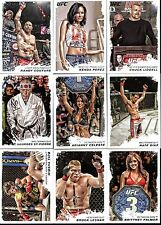 2011 Topps UFC Moment of Truth COMPLETE 220-Cards Base Set..Lesnar, St. Pierre