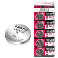 5x Maxell CR2032 3V Lithium Coin Cell Battery 2032 Button DL2032. 096