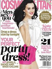 Cosmopolitan magazine Katy Perry Party dress Jewels Shoes Bags Weight loss Men