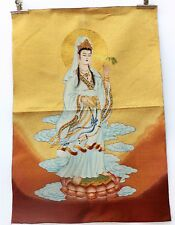 Tibet Collectable Silk Hand Painted Guanyin  Painting Thangka 003