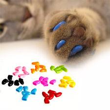 Silicona funda protector garra uñas tapa perro Arañazo gato pata mascotas bgfhy