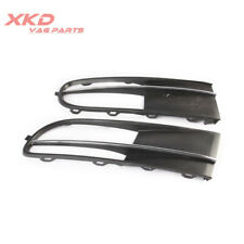 Front Pair Bumper FogLight Grilles Grills For VW Beetle 12-16 Beetle Cabrio