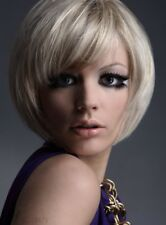 Lovely Carefree Short Bob Hairstyle Hair Wig 8 Inches