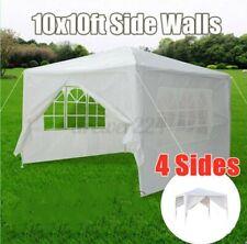10'x10' Party Tent Outdoor Heavy Duty Gazebo Wedding Event Canopy 4 Side Walls