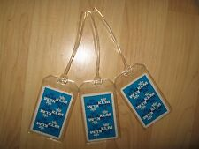 KLM Royal Dutch Airlines Luggage Tags - Vintage KL Playing Cards Name Tag (3)
