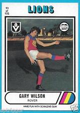 1976 Scanlens (93) Gary WILSON Fitzroy (Excellent)