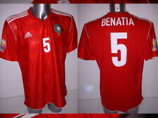 Morocco Benatia Africa Nations Adidas Adult XL BNWT Shirt Jersey Soccer New 2012