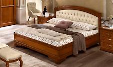 Bett Doppelbett Futonbett 180x200 cm Nussbaum Klassische Italienische Stilmöbel