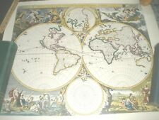 4 Reproduction? Old Antique Map 17th antique?AMERICA