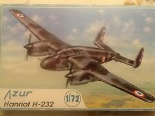 Azur 1/72 scale Hanriot H-232 French Bomber trainer; OOP; #003;1997; PLAIN BOX!