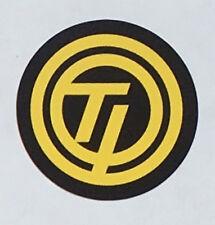 "Raleigh ""Team Professional"" circular ""TI"" decal."