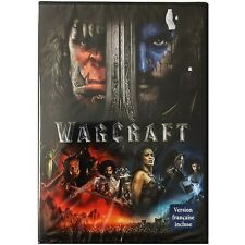 WARCRAFT DVD, New. French and English.