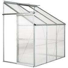 Invernadero de jardín con ventana policarbonato casero plantas cultivos 4,09m³