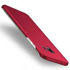 Luxury Protector Ultra Thin Hard Case Phone Cover Red Skin For Samsung Galaxy S5