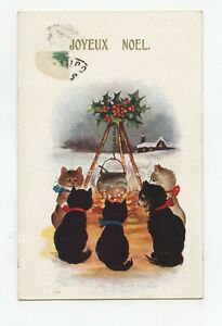 Inter Art Co Florence House, Barnes. Cats Noirs. Merry Christmas