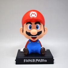Super Mario Bros. MARIO Figure Bubble Head Doll 14CM Toy New in Box