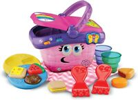 LeapFrog Shapes and Sharing Picnic Basket (Frustration Free Packaging),Pink